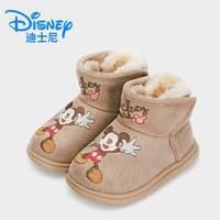 Disney 迪士尼 儿童雪地靴