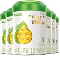 Wyeth 惠氏 启赋蕴萃有机 幼儿配方奶粉 3段 900g 6罐 + 350g 6罐