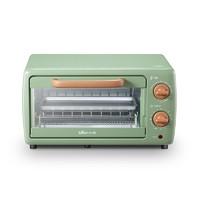 聚划算百亿补贴:Bear 小熊 DKX-C10J1 电烤箱 10.5L