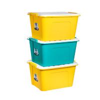 CHAHUA 茶花 塑料收纳箱 35L 1个装