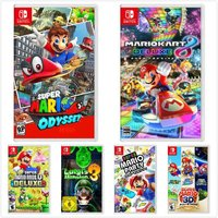 Nintendo 任天堂 Switch游戏 路易鬼屋3 兄弟U 马车8 奥德赛 马里奥3D 派对