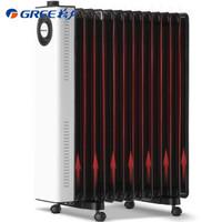格力 (GREE)取暖器 家用 13片宽片电热油汀 静音速热 NDY23-X6022