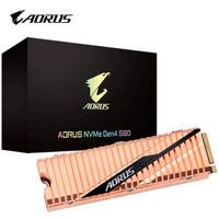 技嘉(GIGABYTE) AORUS系列500GBSSD固态硬盘GEN4雕盘M.2接口pcie4.0系列