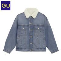 GU 极优 328034 男士复古牛仔夹克外套