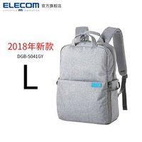 ELECOM 宜丽客 DGB-S035 单反相机包 双肩数码微单背包  2018款L 灰色