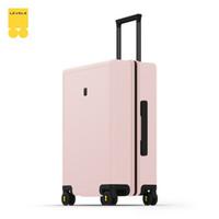 LEVEL8 地平线8号 行李箱拉杆箱24英寸托运箱 德国科思创PC箱体男女旅行箱 冰川粉
