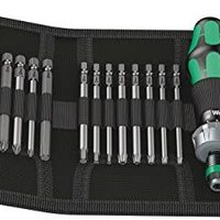 我的日常工具 篇四:德国维拉 WERA Kraftform Kompakt 60RA 棘轮螺丝刀 17件套装 开箱