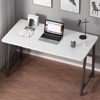 家乐铭品 电脑桌书桌 钢木办公桌1.2米加宽加大加固多功能家用简约桌子卧室写字台学习桌笔记本电竞桌 CX132