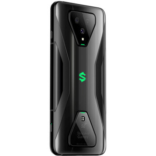 黑鲨磁吸充电线套装  腾讯黑鲨游戏手机3 12GB+256GB 闪电黑 骁龙865 270Hz触控采样率 90Hz刷新率 双模5G
