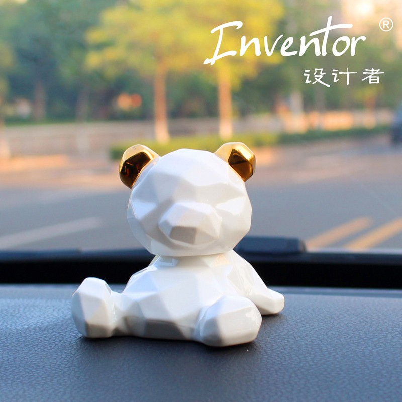 Inventor 設計者 幾何熊 汽車香水擺件