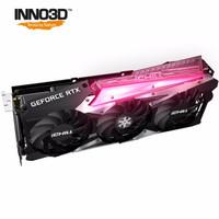 映众(Inno3D)GEFORCE RTX 3060 Ti 冰龙超级版 8GB GDDR6 显卡/台式机/游戏/电竞/绘图/设计/AI/独立显卡