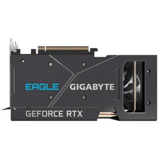 技嘉 GIGABYTE GeForce RTX 3060 Ti  EAGLE 8G猎鹰游戏显卡