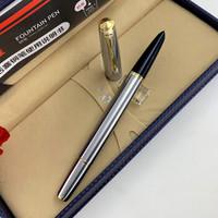 永生601全钢活塞式14K暗尖金笔容量大 全钢金夹14K金笔 F尖0.5mm