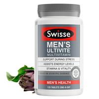 Swisse斯维诗 男士复合维生素 120片/瓶 含52种维生素 维生素b 提高耐力与活力 澳洲进口 *2件