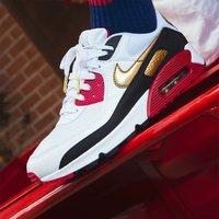 Nike | AIR MAX 90男款透气舒适气垫减震保护运动休闲鞋老爹鞋