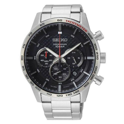 SEIKO 精工 Neo QuartzSSB355 中性石英腕表