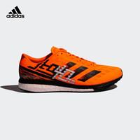 阿迪达斯官网 adidas adizero Boston 9 m男女跑步运动鞋GV7112 信号橙/信号橙/一号黑 40.5(250mm)
