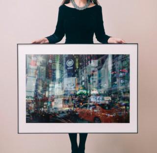 罗马艺术家 阿莱西奥·特雷罗托雷 作品《不夜纽约》