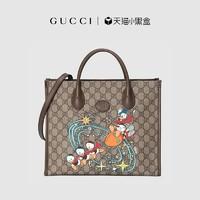 GUCCI古驰Disney x Gucci联名款印花托特包