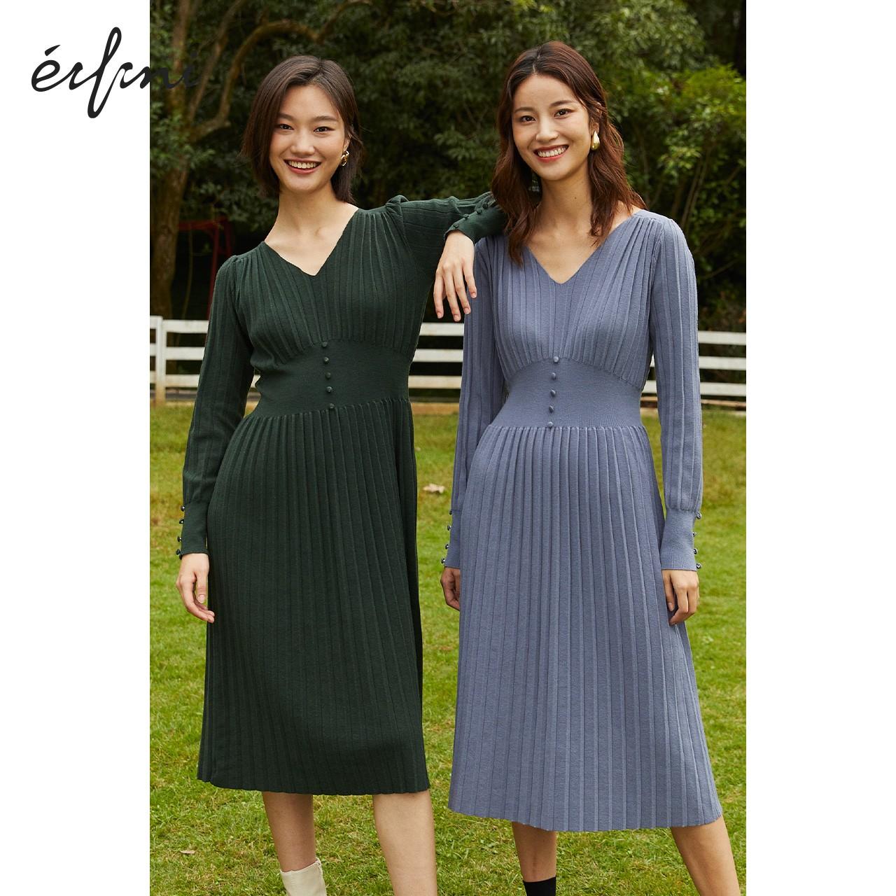 Eifini 伊芙丽 1BA998711 女士连衣裙