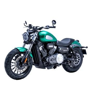 奔達 金吉拉 BD300-15 摩托車整車 綠色 高配版