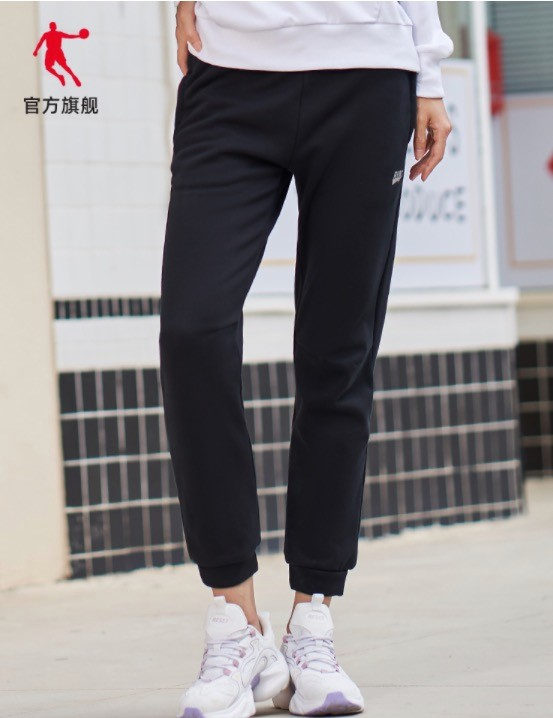 QIAODAN 乔丹 XKL3292221Y 女士运动长裤