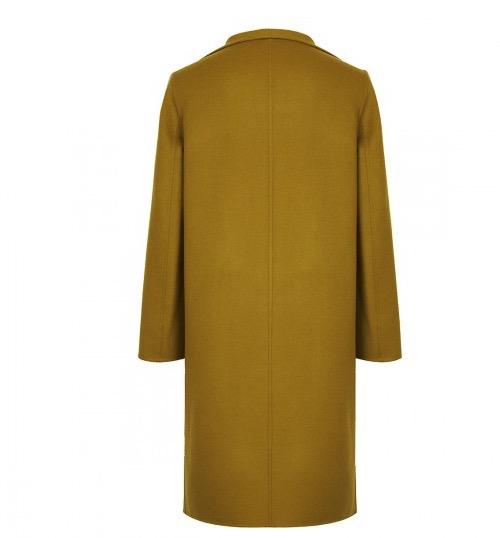 ERDOS 鄂尔多斯 E276K4017Q0059A 女士纯色大翻领中长款大衣