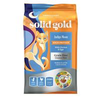 金力高(Solid Gold)金装天然无谷鸡肉配方全猫粮5.44kg 金装猫粮