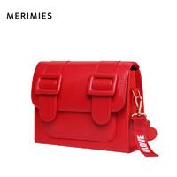 merimies泰国剑桥包 明星同款情人节正红色大红单肩斜挎包婚包