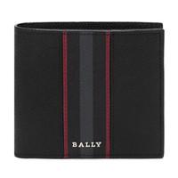 巴利 BALLY 男士皮质短款钱包钱夹黑色 BRASAI BI 10 6235588 *2件