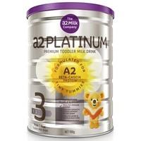 澳洲a2 新西兰Platinum 白金版 婴幼儿配方奶粉3段 900g(1-3岁)宝宝适用*3罐