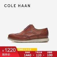 Cole Haan/歌涵 男士牛津鞋 英伦风雕花德比鞋商务皮鞋 C26471