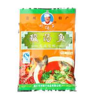 贵州特产遵义刘胡子酸汤鱼火锅底料红酸汤调料配料210克佐料凯里酸汤鱼主料