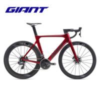 Giant捷安特Propel Advanced Pro 0 Disc弯把24速公路自行车 金属红 M(适合身高173-178cm)