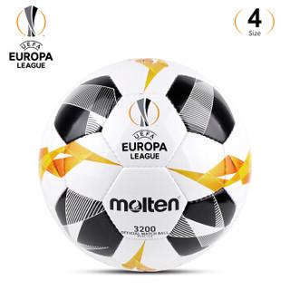摩腾官方 molten摩腾欧联杯足球5号4号手缝耐磨比赛训练足球3200 F4U3200-G9