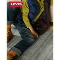 Levi's李维斯冬暖系列501男士经典直筒牛仔裤潮牌79830-0096 牛仔色 30 32