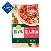 圃美多 番茄肉酱意大利面 780g 酱拌面 意式面条 方便速食