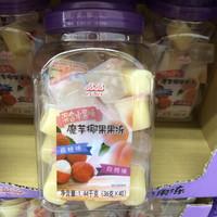 山姆店晶晶果冻晶晶混合水果味魔芋椰果果冻1.44kgplus会员
