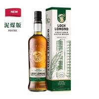 罗曼湖 英国苏格兰 单一谷物威士忌46度700ml 进口洋酒 新版泥煤味