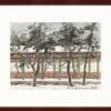 Artron 雅昌 關山月《長廊積雪》54×65cm 水墨畫 宣紙