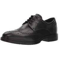 ECCO 爱步 Men's Lisbon Brogue 里斯系列 系带牛津男鞋 44EU