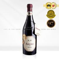 意大利威尼托高分红葡萄酒枯藤法风干葡萄750毫升精致礼盒装 单瓶(不含木盒) *3件