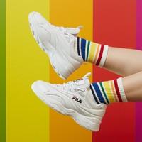FILA 斐乐 F12W931131FWT  女款休闲运动鞋