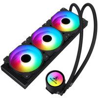 鑫谷(Segotep)冰封360水冷CPU散热器(ARGB主板同步/多模式可调灯效/高效传导硅脂/静音风扇/支持TR4)