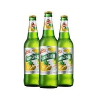 汉斯小木屋菠萝啤瓶装500ml*12瓶混合果味碳酸饮料果啤