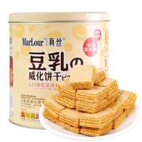 Marlour 万宝路 豆乳威化饼干 350g *7件