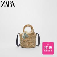 ZARA 童包女童 蝴蝶结饰迷你篮式包 11156530002