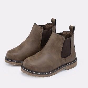 KIDS.ING 儿童复古切尔西靴