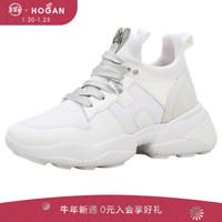 HOGAN  女士Interaction系列牛皮运动鞋 休闲鞋老爹鞋 礼盒礼品 白色 39.5