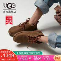 UGG 2020秋冬男士雪地靴经典轻便奢华系列休闲迷你靴 1017254 GRZ  熊棕色 41
